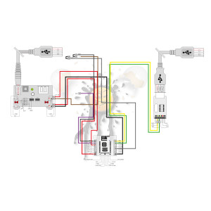 ESP-12F schematische Anschlussbelegung