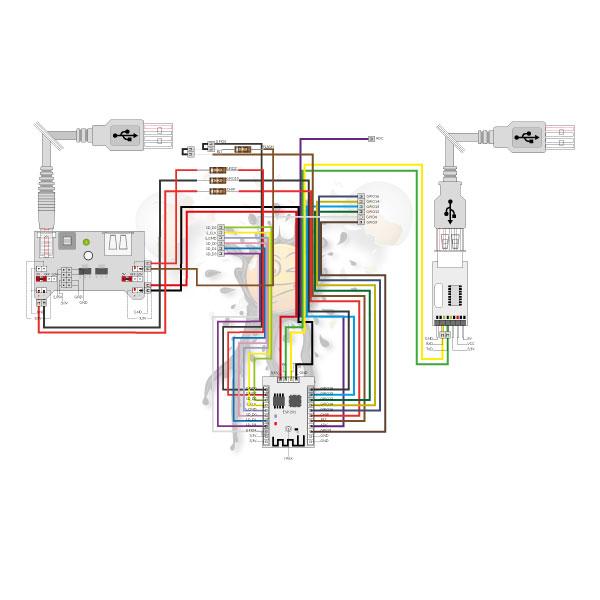 ESP201 wiring diagram