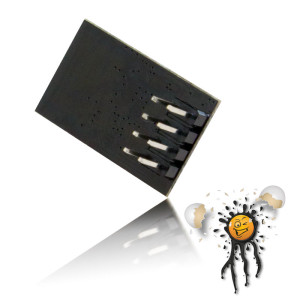 ESP-01 Rückansicht
