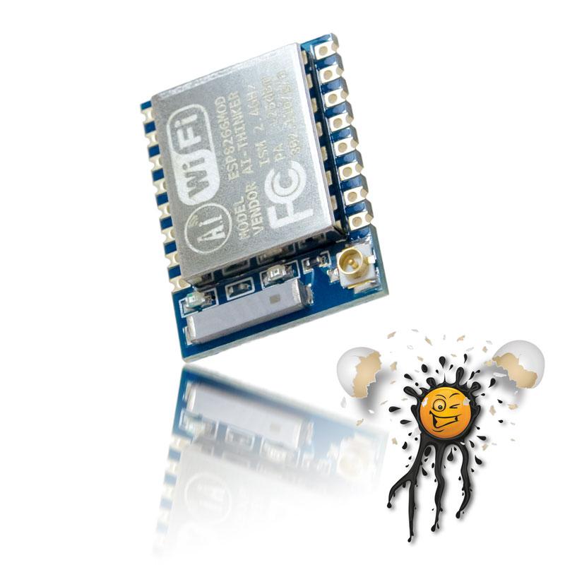 ESP-07 mit 8 Mbit Flash
