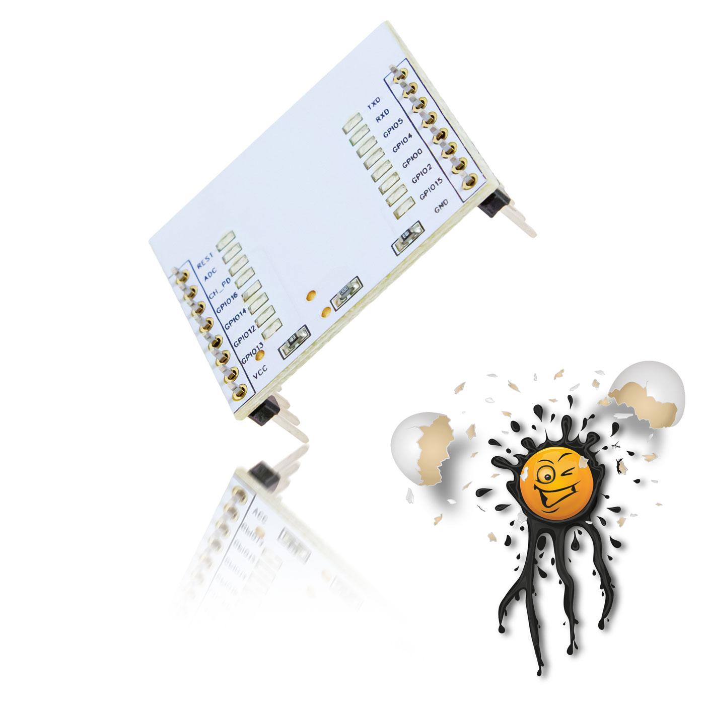 ESP8266 I/O Adapter
