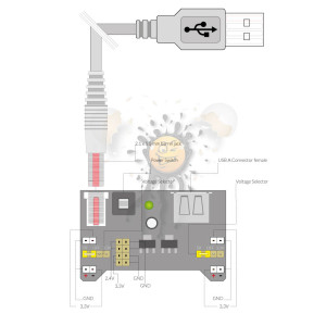 Netzteil im ESP8266 Modus