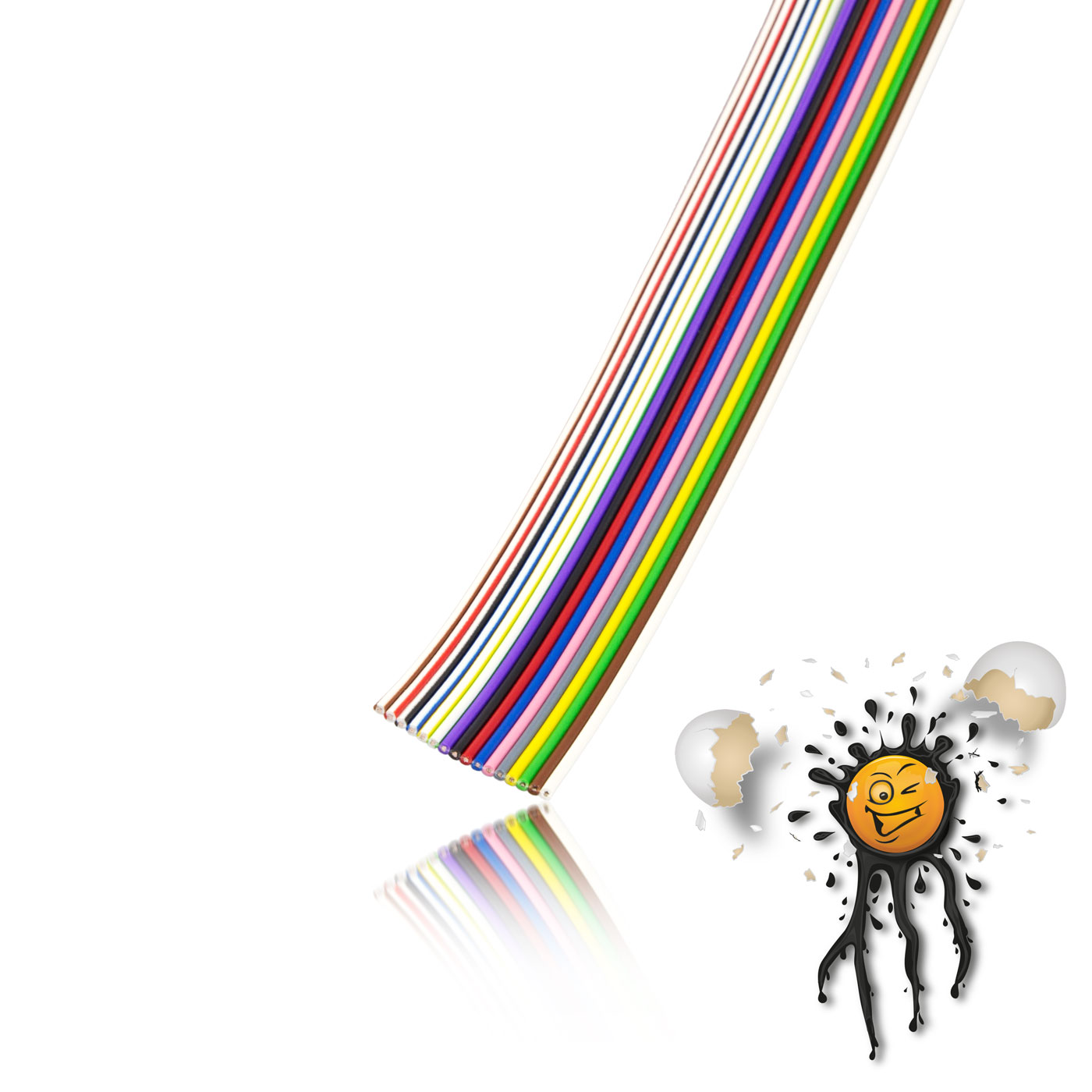 Flachbandkabel AWG27 16-polig