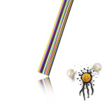 Flachbandkabel AWG27 17-polig