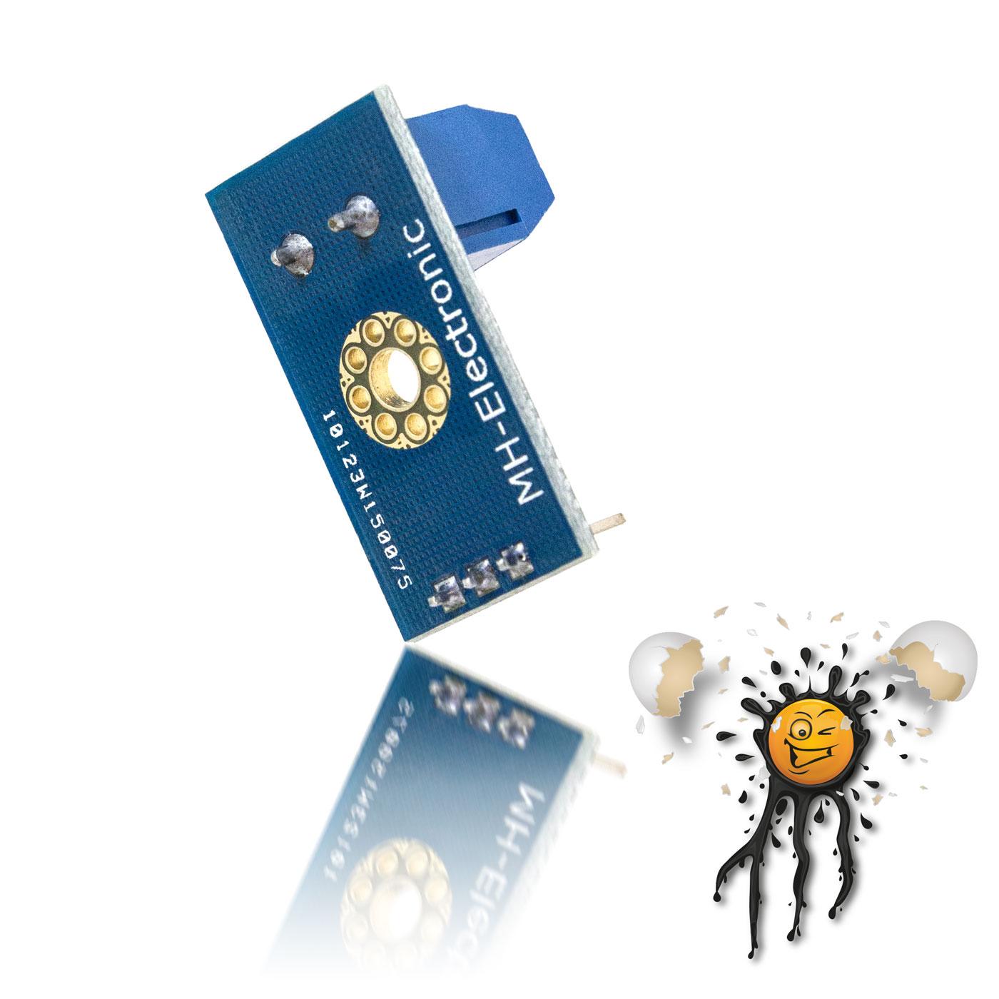 Spannungssensor 0-25 Volt Rückseite