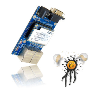 Serielles WLan Router Board