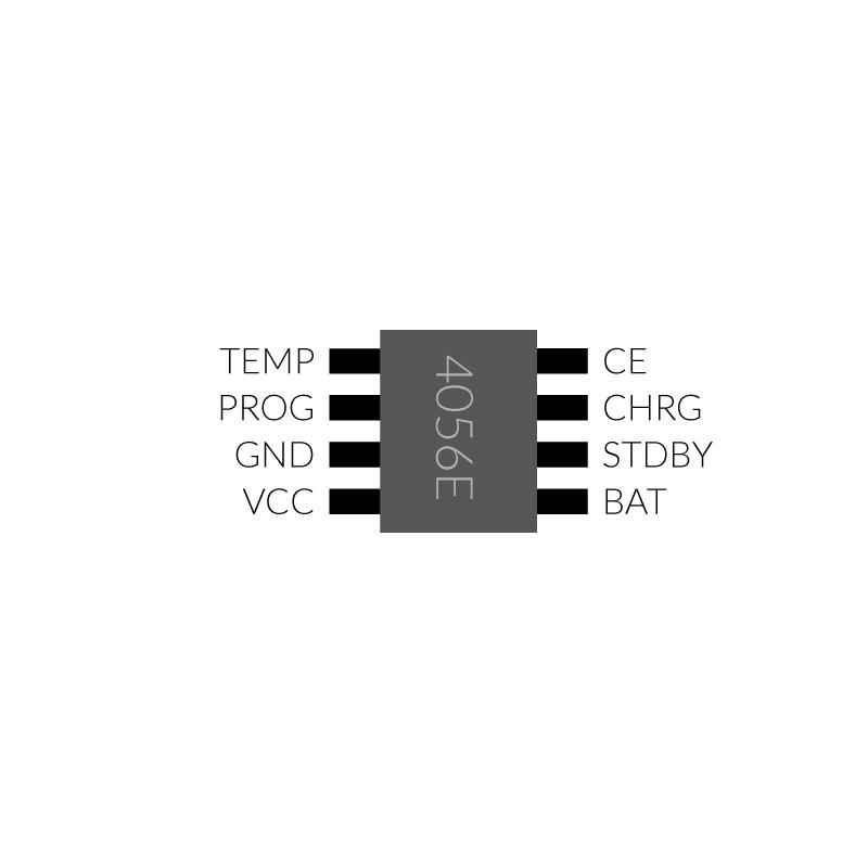 USB-Laderegler-Pinout