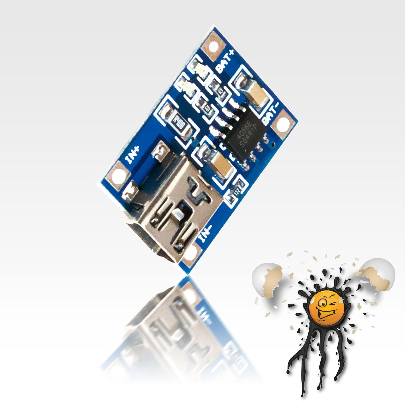 Li-Ion USB Laderegler TP4056