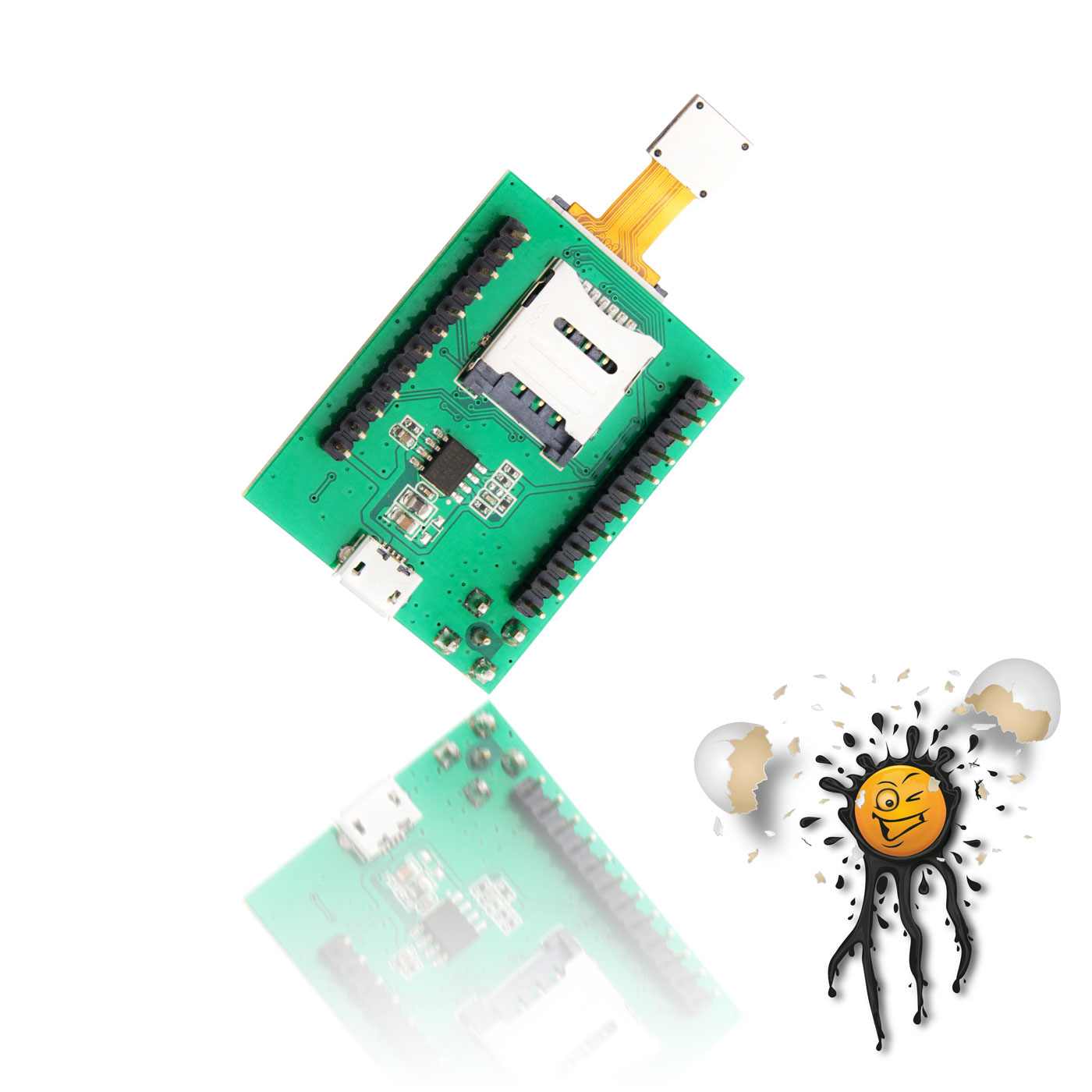 Original AI Thinker A6C GSM Modul Detail