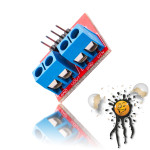 Anschlüsse MAX471 Leistungssensor