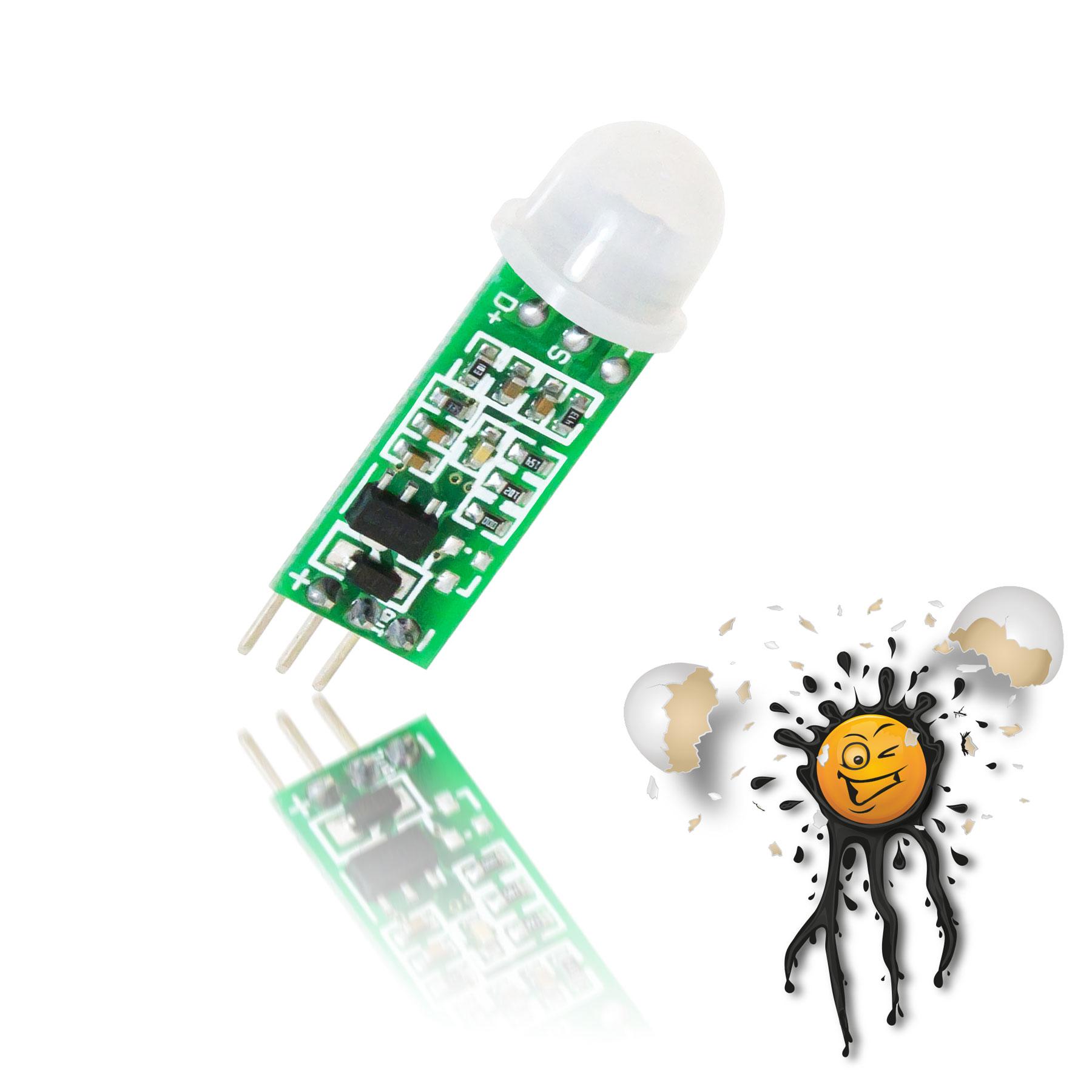 PIR Sensor Modul Detailansicht