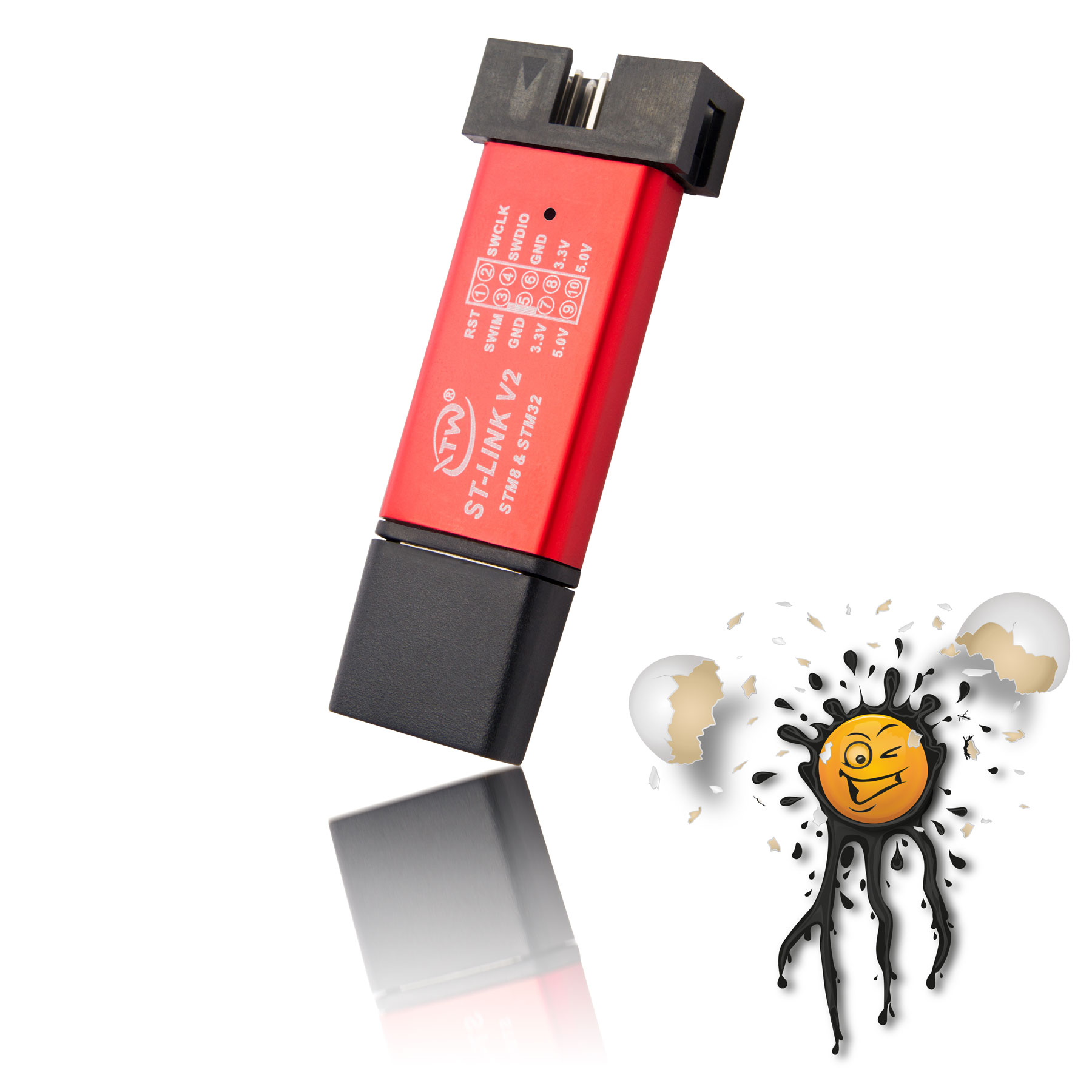 USB JTAG Konverter top