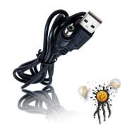 USB A auf 5.5x2.1 5V DC Hohlstecker Kabel
