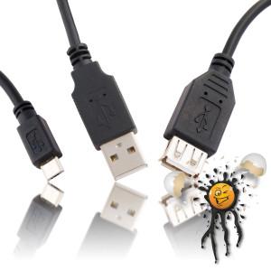 USB Kabel und Adapter
