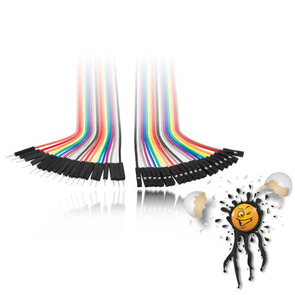 IoT Kabel Set male-male male-female female-female