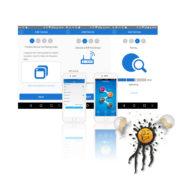 ESP8266 Dual Relais Android iOS App