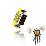 RS232 serial gender changer male to female