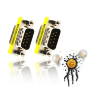 male to male serial UART RS232 gender changer