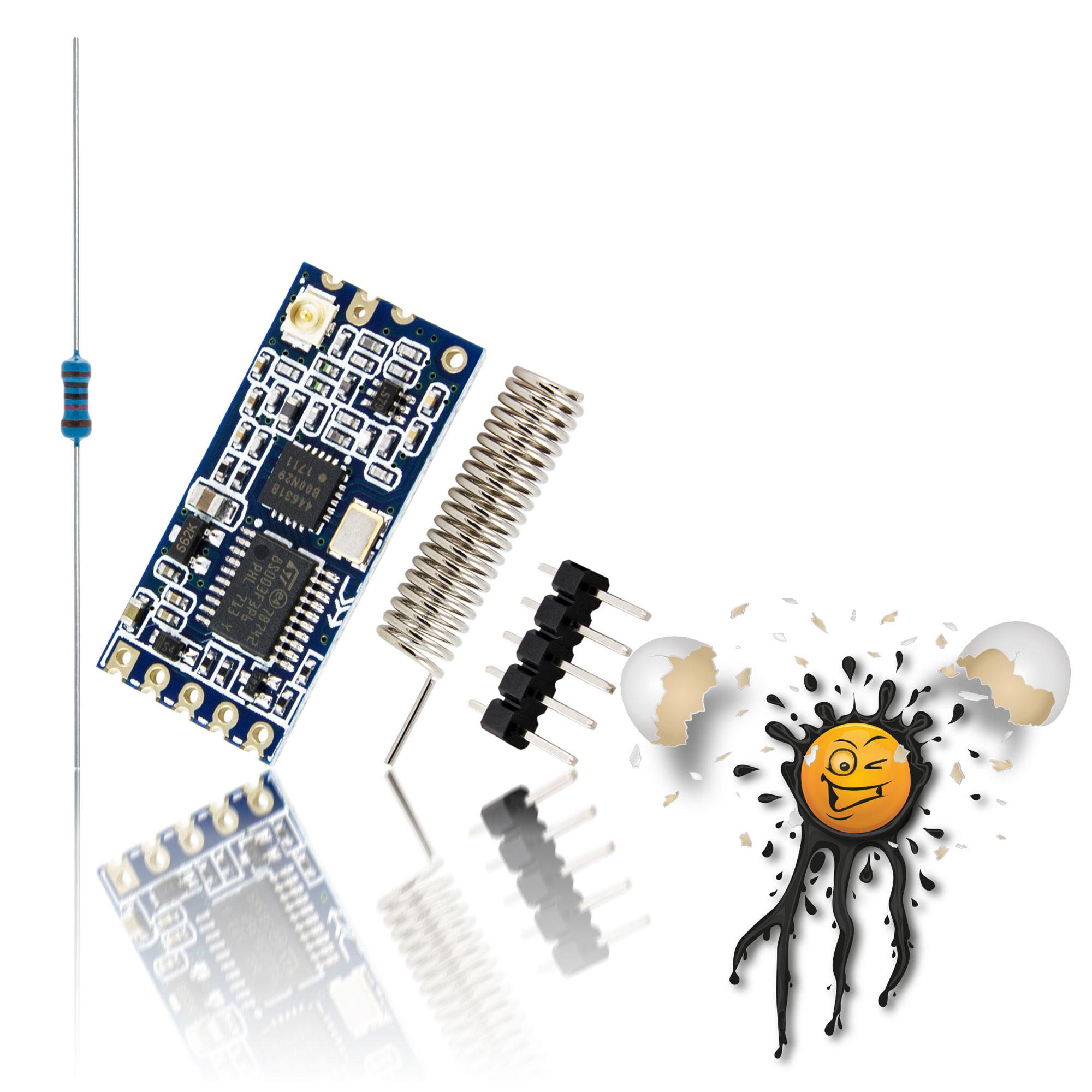 RF 433-473 to UART Modul HC-12
