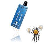Arduino Flammensensor 4 Pin 3,3V-5V