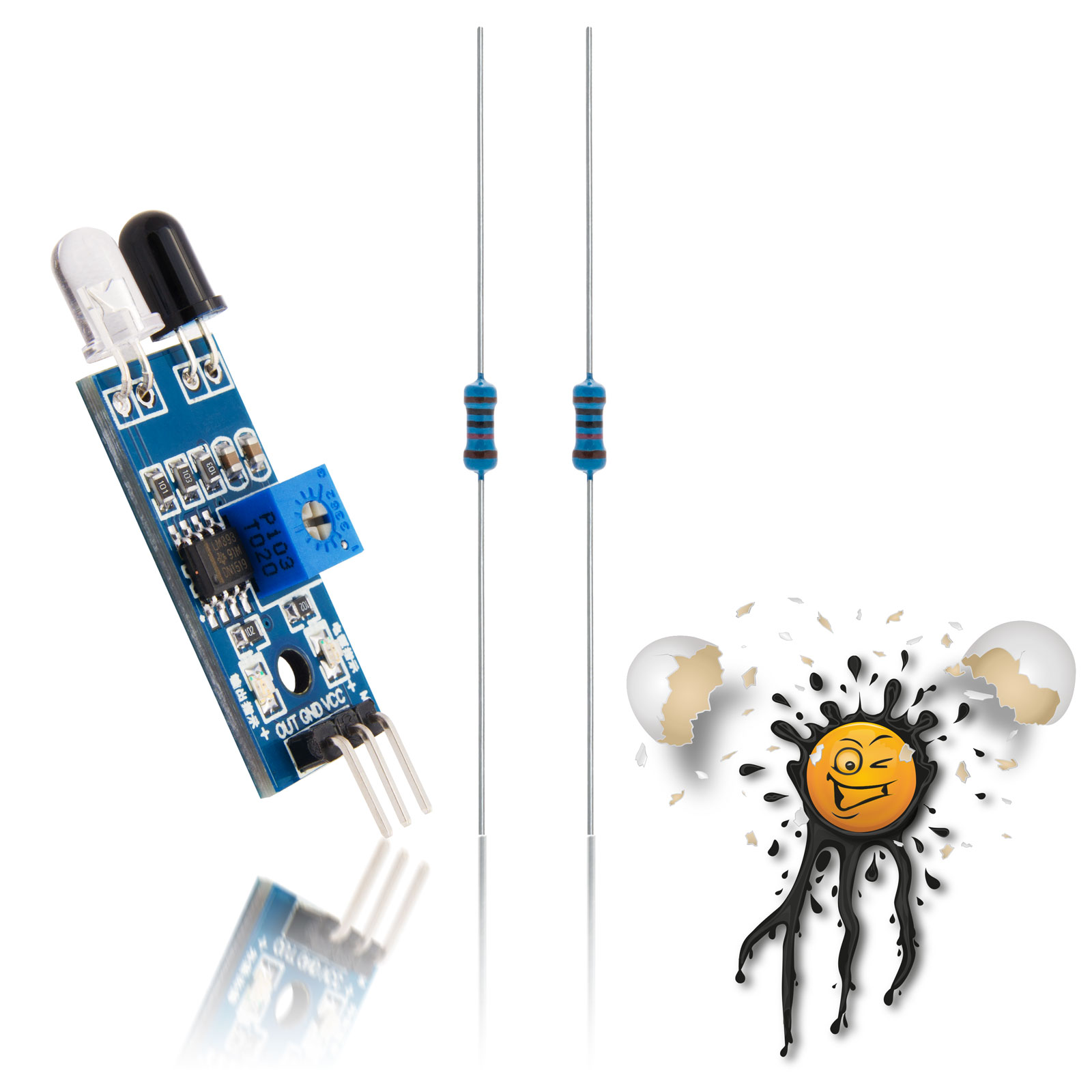 ESP IR Distanzsensor Kit