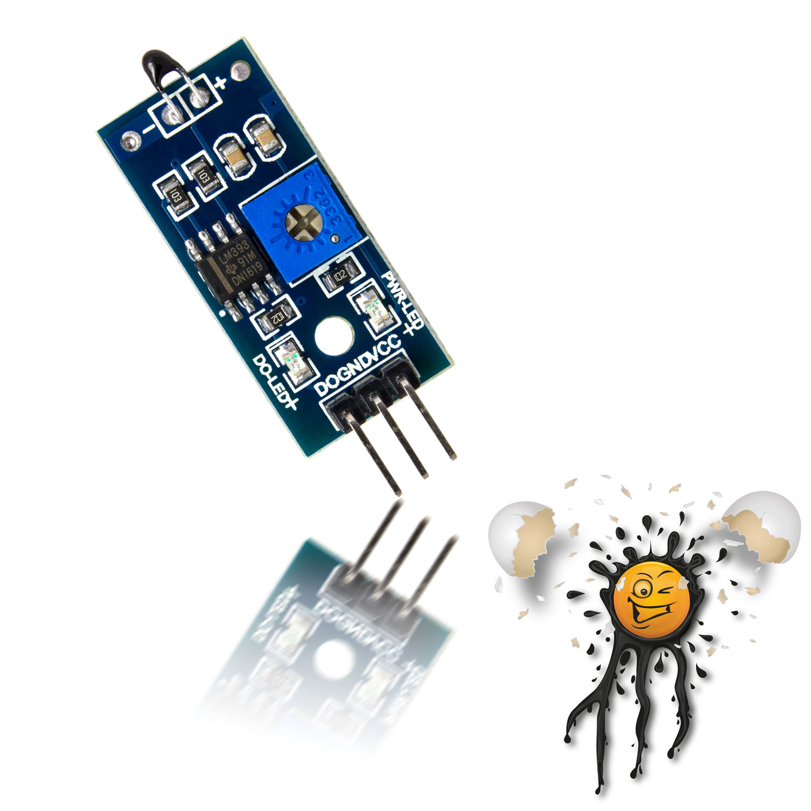 Arduino Temperatur Fühler Modul