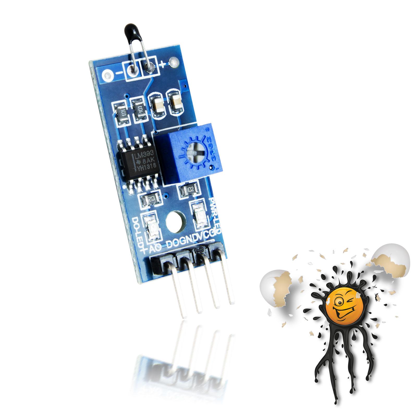 Arduino Temperatur Sensor 4 pin