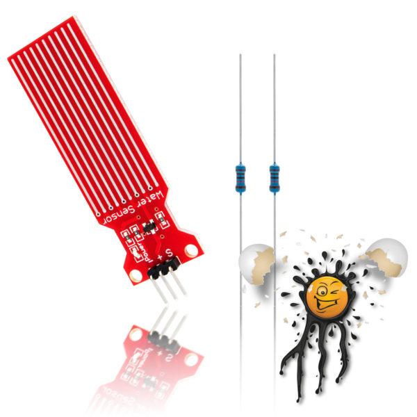 ESP8266 Regen Wasser Sensor Kit