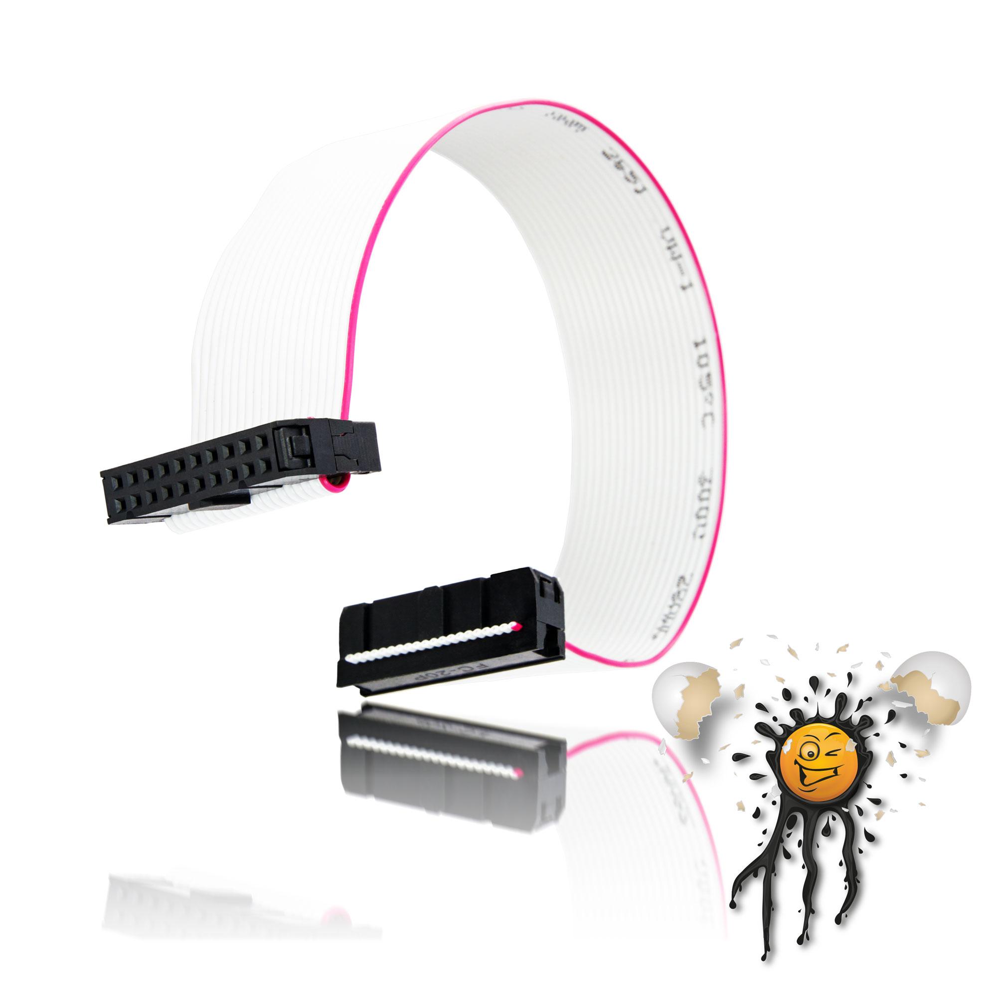 Flachbandkabel mit Pfostenverbinder 20-polig – IoT powered by ...