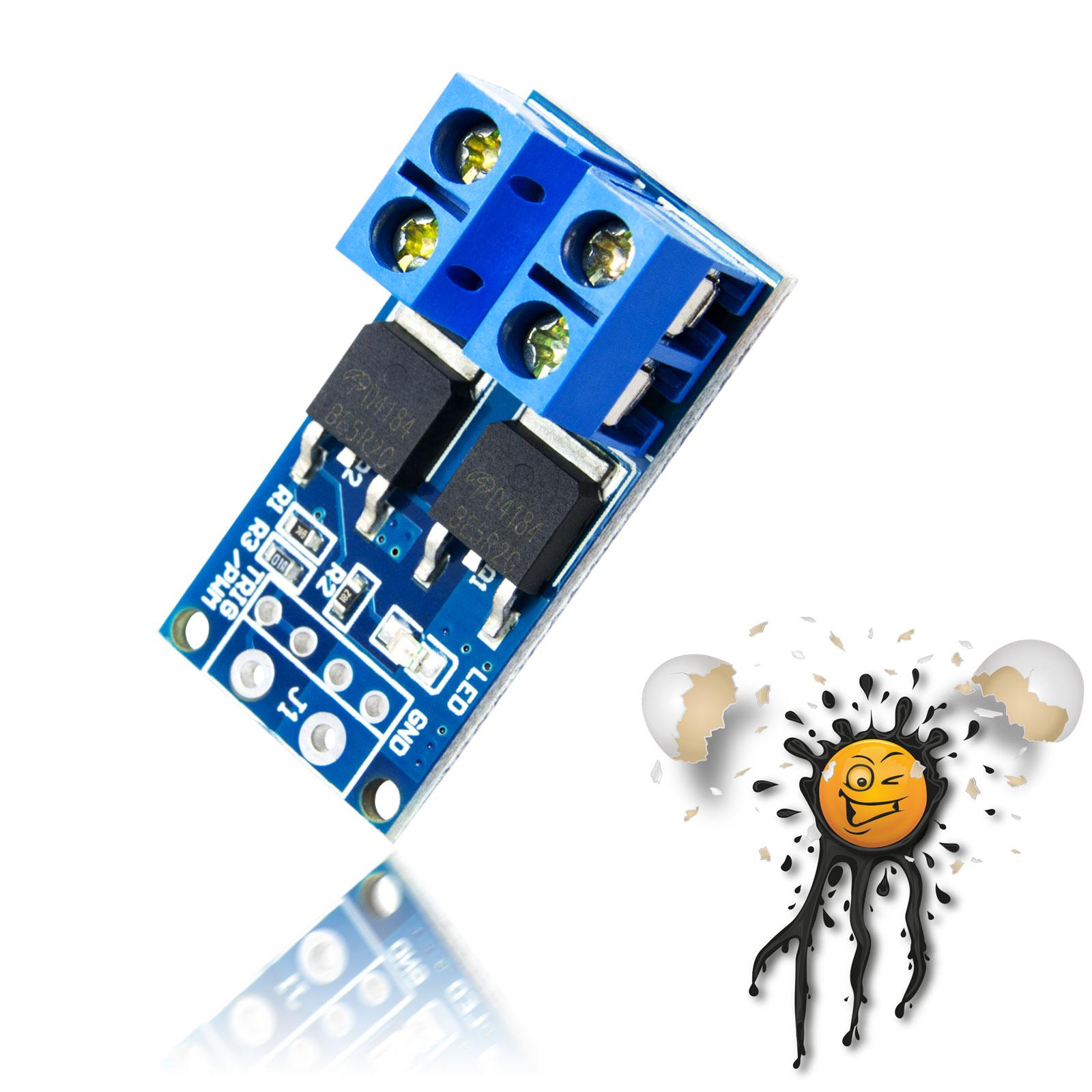 D4184 400W PWM Mosfet Module Board