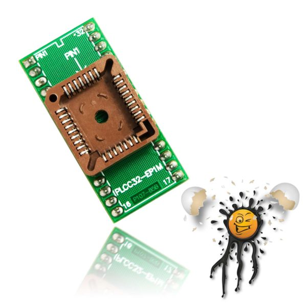 sop32-plcc32-adapter-top