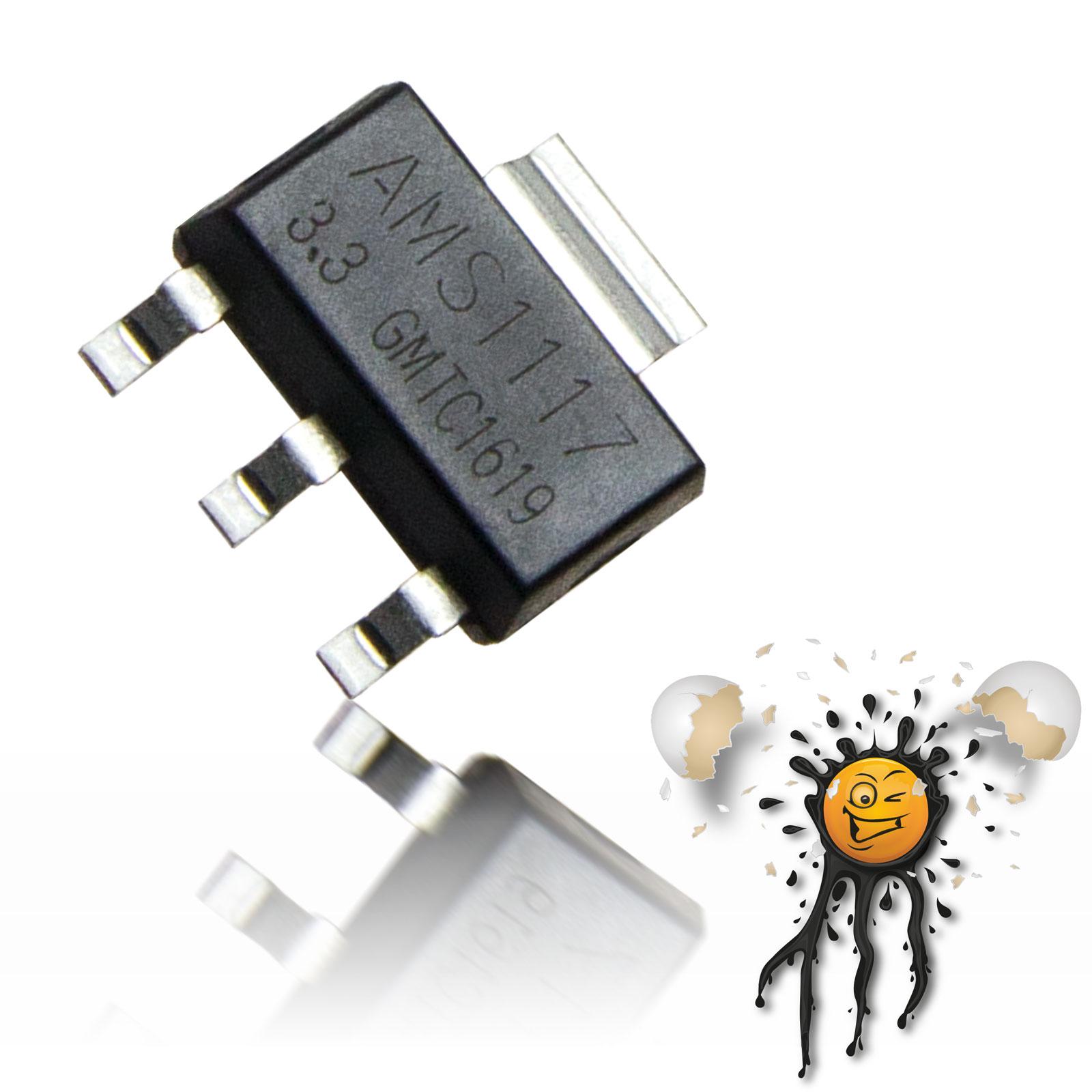 AMS1117 3.3V Volatge Regulator