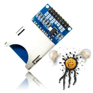 Arduino ESP8266 ESP32 ESP8285 Standard SD Card Reader