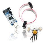 AVR USB ASP ISP Programmer incl. 300mm wire