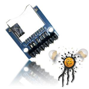 ESP8266 SPI Micro SD Kartenleser 3,3V