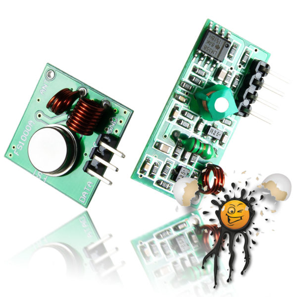 Arduino 315 MHz RF Sender Empfänger Set