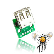 USB Buchse to Dip Adapter 4-polig