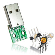 USB Stecker to Dip Adapter mit Pinleiste