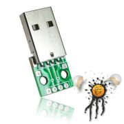 USB Stecker to Dip Adapter 4-polig
