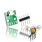 Micro USB to Dip Adapter mit Pinleiste