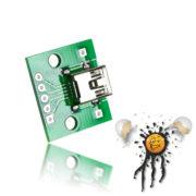 Mini USB to Dip Adapter 5-polig