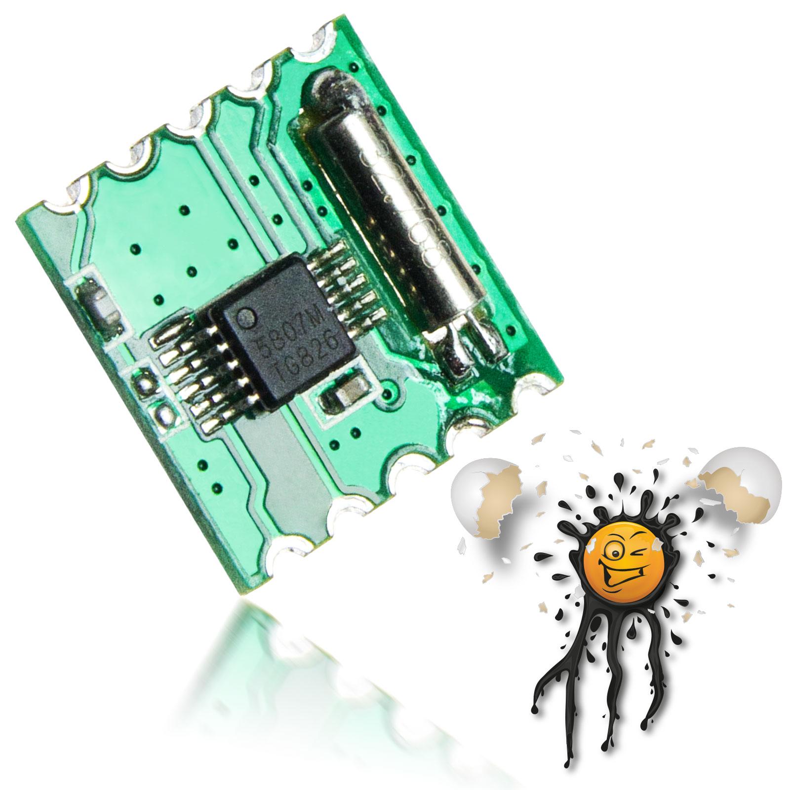 RDA5807 I2C FM Radio Receiver Modul