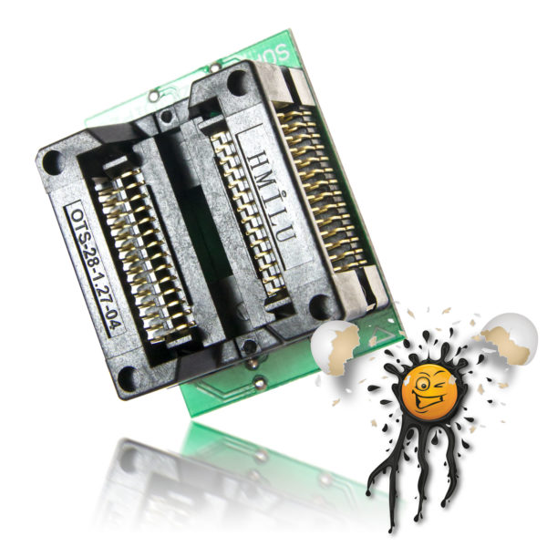 SOIC28 SOP28 to Dip28 Adapter