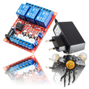 5V 3 Channel Relais Modul Set