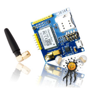 AI Thinker A6 GSM Board inkl. Antenne