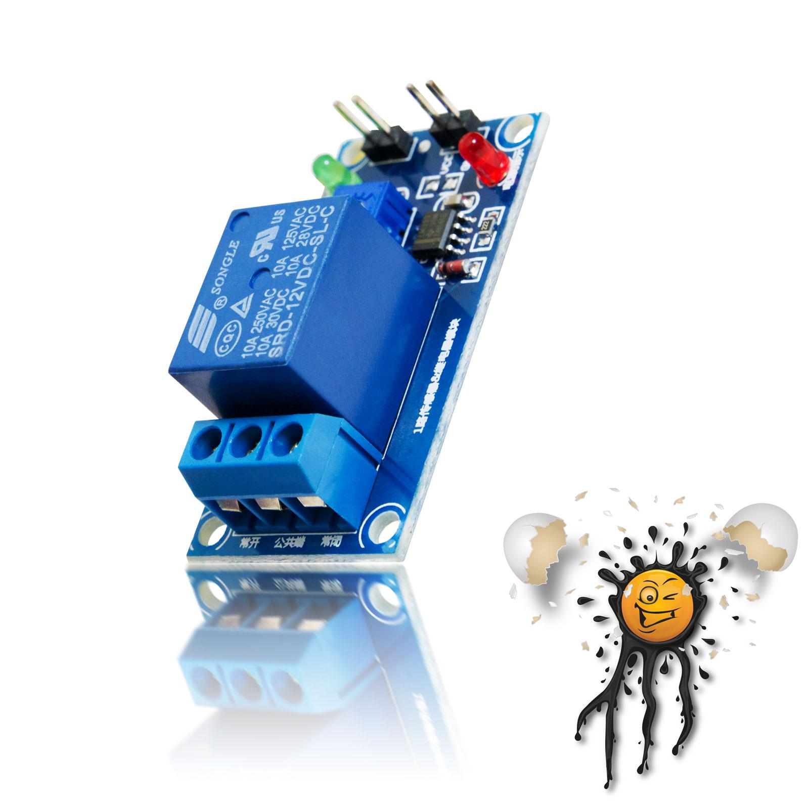 12V Relais Controller Module