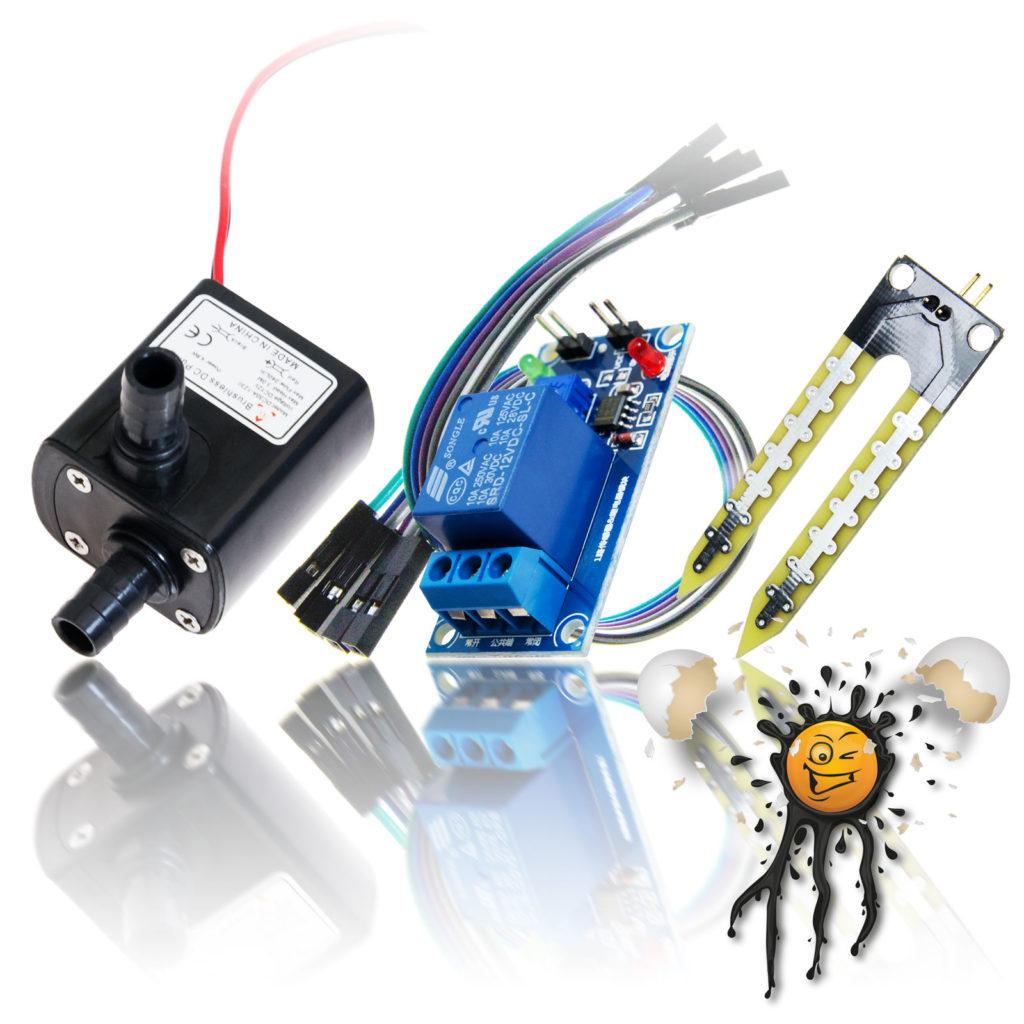 Watering Hygrometer Sensor Set compl