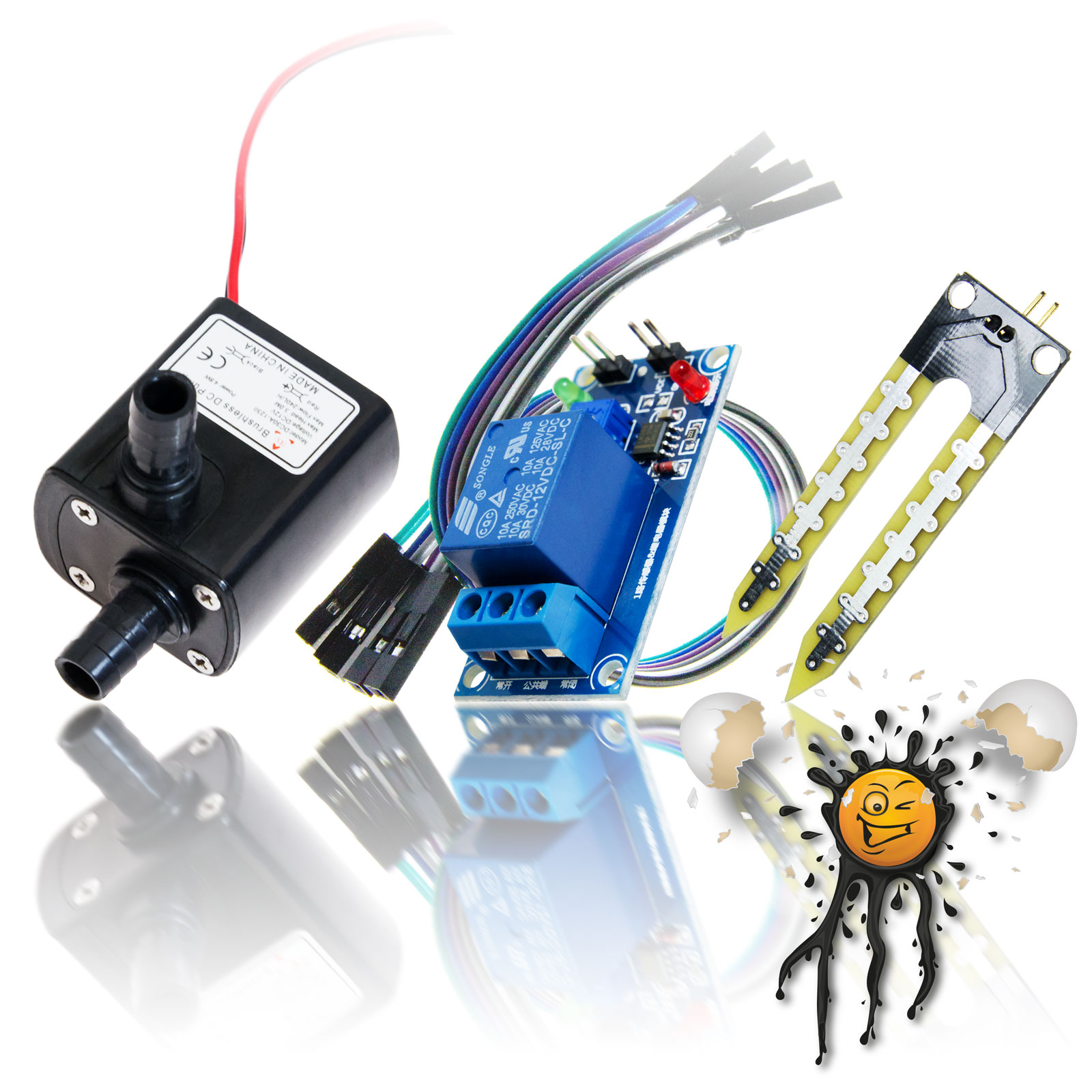 Bewaesserungsset Hygrometer Sensor Set