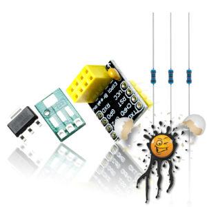ESP8266 ESP-01 ESP-01S ESP8285 ESP-1 Adapter Set