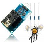 ESP8266 ESP-01 ESP-01S ESP8285 ESP-1 UART Adapter Set